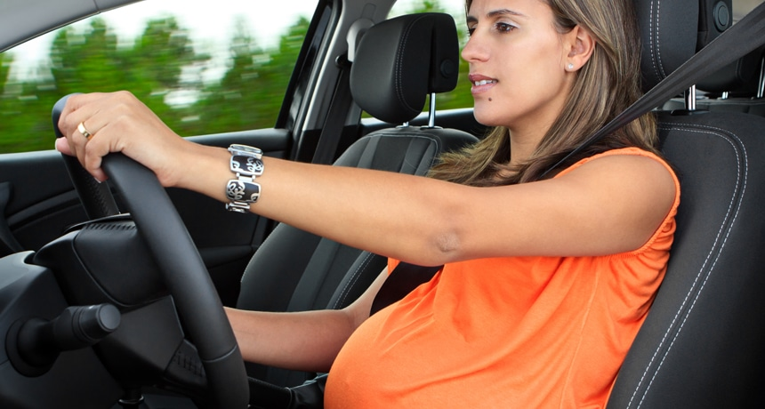 guida in gravidanza